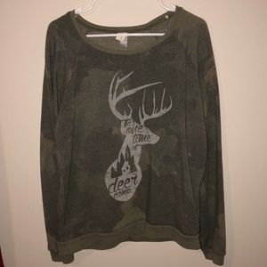 "Sweaters - ""One time at deer camp"" sweater"
